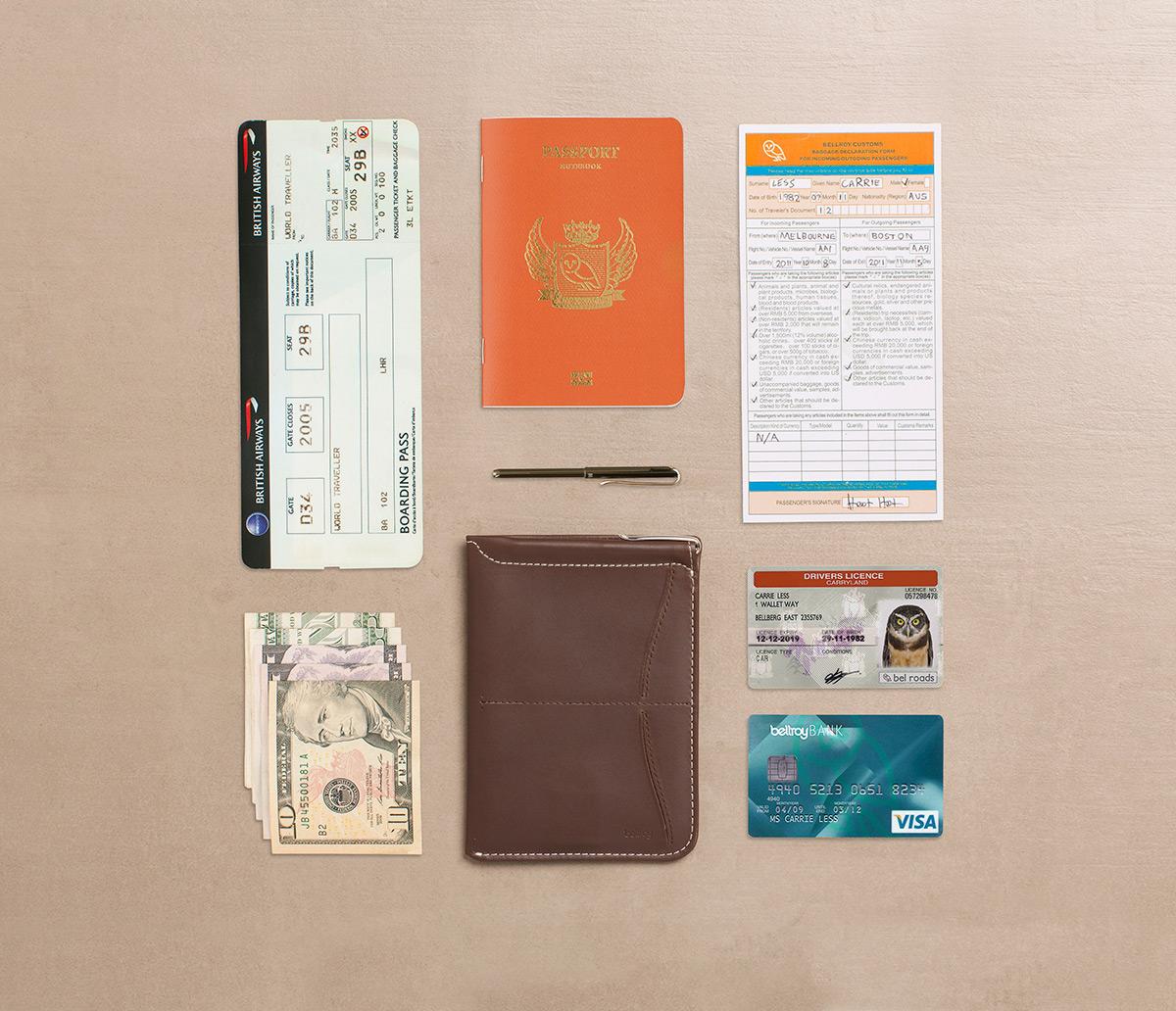 Passport Sleeven sisältö